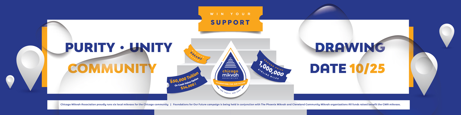 Mikvah Raffle Campaign